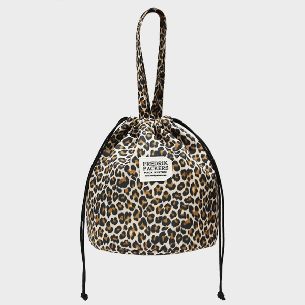 #10 DUCK CANDY TOTE LEOPARD